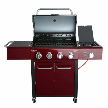BBQ a gas 4 y 1 quemadores  48000BTU ALL'GRILL Festival Paella World