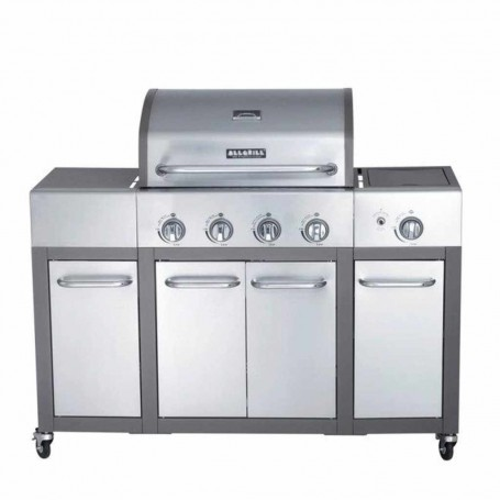 BBQ a gas con 4 puertas 4 y 1 quemadores 48000BTU ALL'GRILL Major Paella World