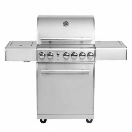 """BBQ a gas con sistema de aire laterales plegables 3 y 2 quemadores 59000BTU ALL'GRILL Chef """"M"""" Paella World"""