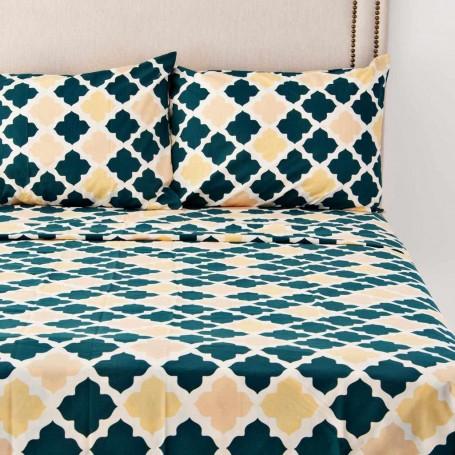 Juego de sábanas Cerámica Marroquí Prisma