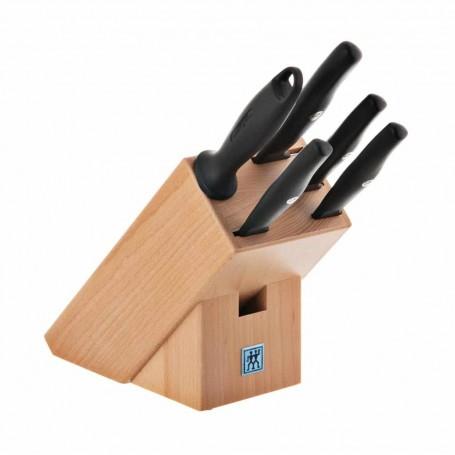 Juego de cuchillos y bloque 6 piezas Life Zwilling