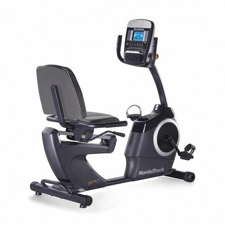 Bicicleta recumbent con ventilador / monitor de pulso cardiaco / 22 niveles de resistencia GX4.7R NordicTrack