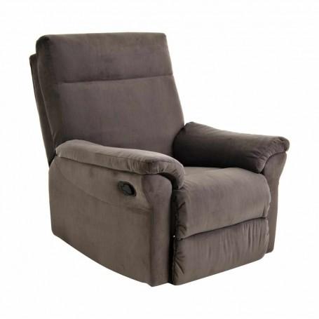 Sofá reclinable con botón 1 puesto