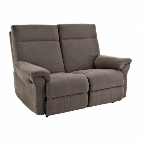 Sofá reclinable con botón 2 puestos