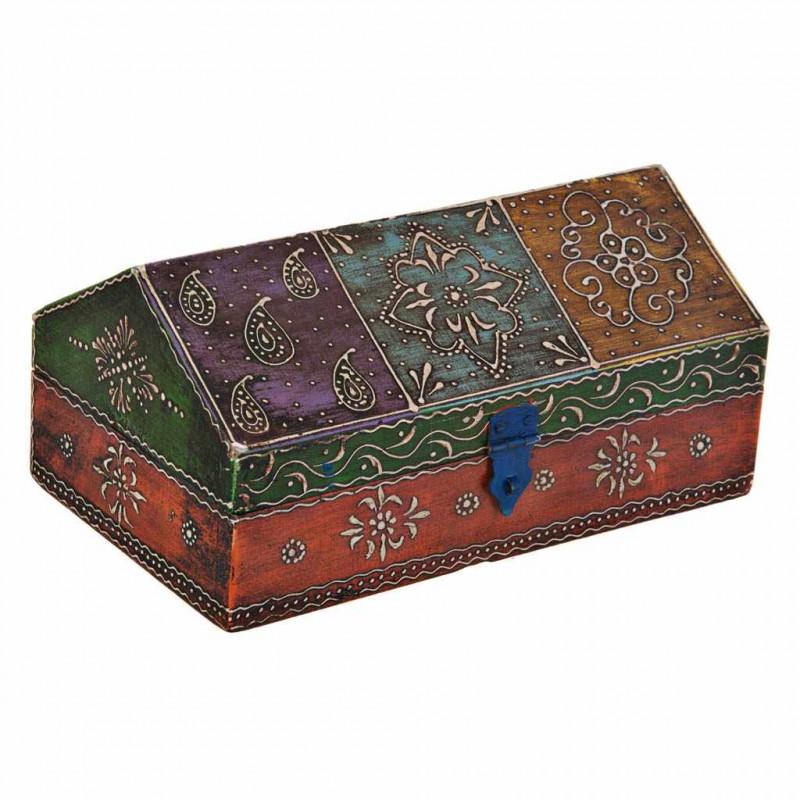 Caja con tapa cono Diseño Hindú Haus