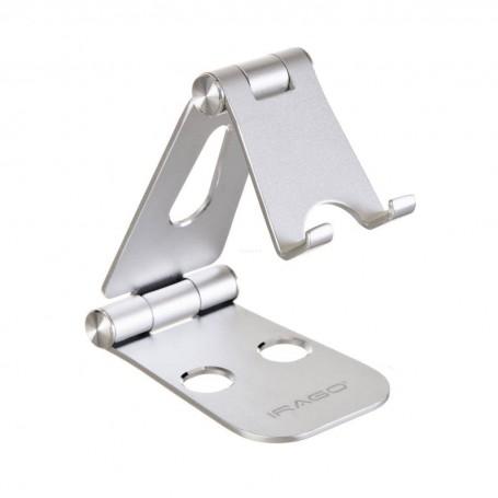 Soporte de aluminio para celular XStand Irago