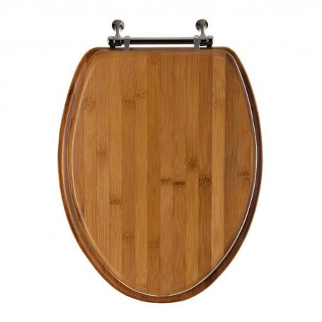 Tapa para inodoro alargado Bamboo Ginsey