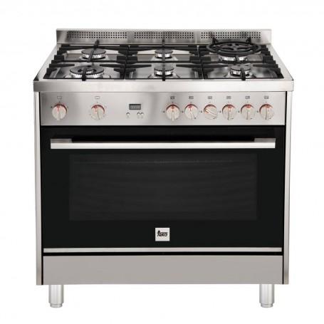 Teka Cocina a gas 6 quemadores / 3 niveles de cocción FS3RS966GGX