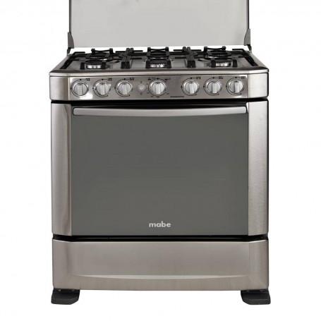 "Mabe Cocina a gas 6 quemadores / Grill 30"" 76 cm INGENIOUS7620EX1"