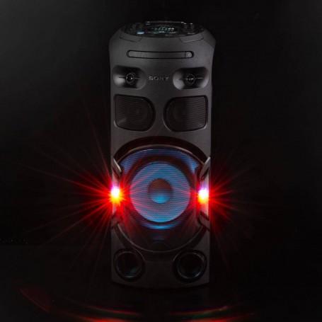 Sony Parlante para fiesta panel / iluminado DVD + HDMI / NFC / Bluetooth / USB MHC-V42D