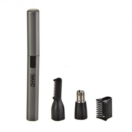 Recortador Seco / Húmedo a batería para vellos nariz / oído / cejas Lithium Wahl