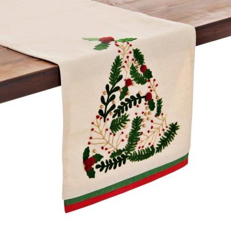 Camino de mesa Árbol de Navidad Haus