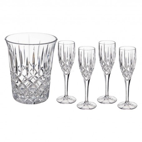 Copas para champagne con hielera Noblesse Natchmann