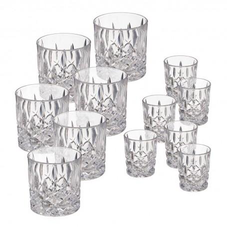Vasos para Whisky / Shot 12 piezas Noblesse Natchmann