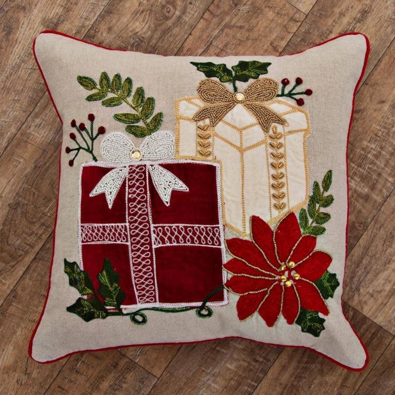 Forro para cojín Regalos Navidad Haus