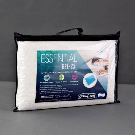 Almohada Memory Foam Beautyrest Essential Gel-2X Simmons