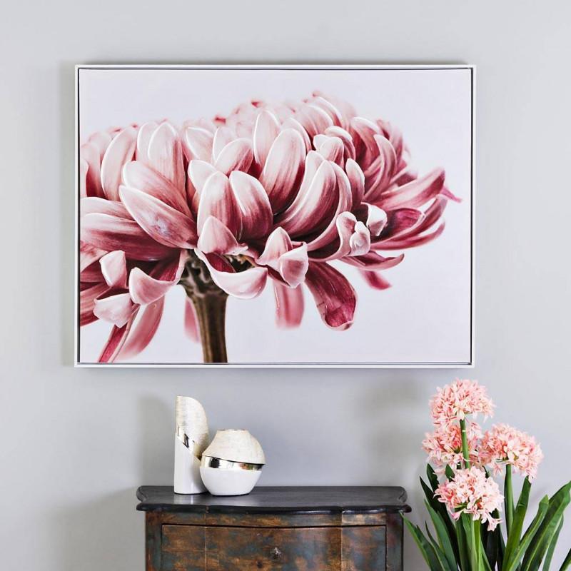 Cuadro Rosado Flor