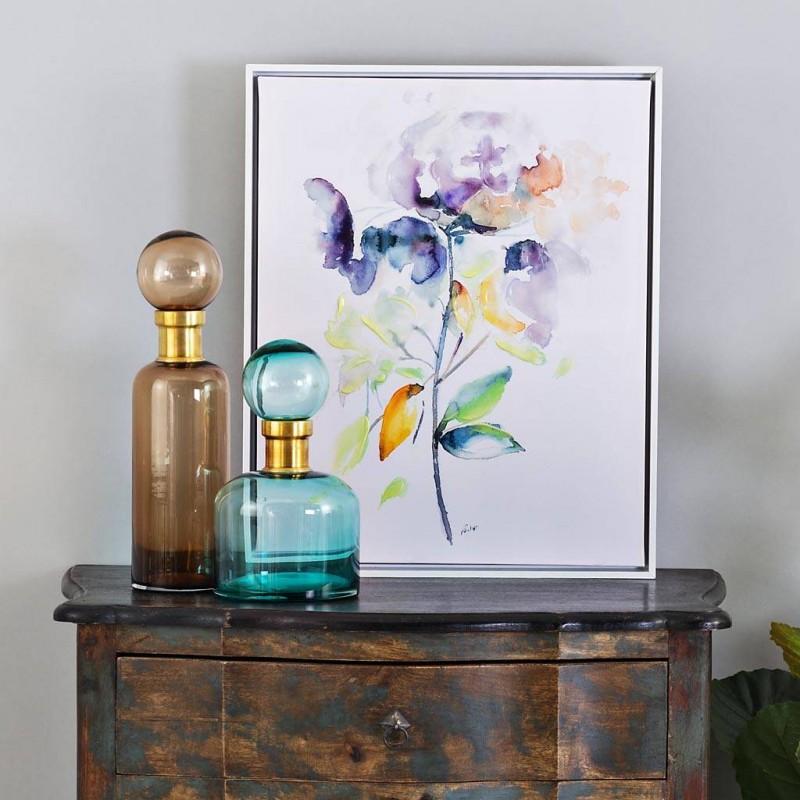 Cuadro Multicolor Flor