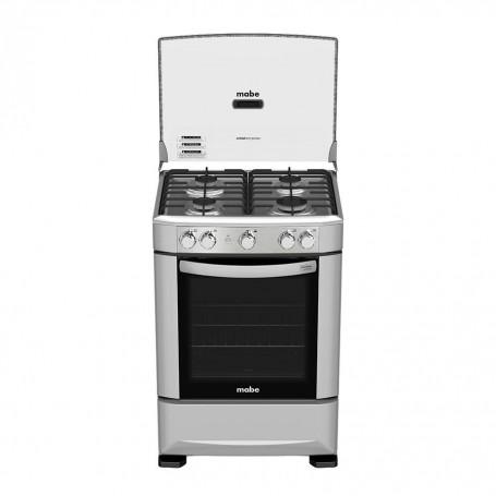 Mabe Cocina a gas 4 quemadores 60cm EM6020SG0