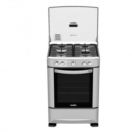 Mabe Cocina a gas 4 quemadores 60cm EM6030SG0