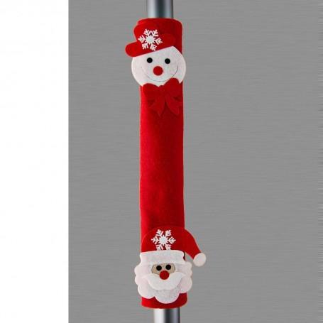 Cubremanija para refrigerador Muñeco de Nieve / Noel