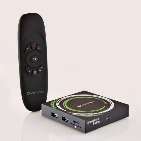 Convertidor Smart para TV 2GB / 16 GB / 4K / Bluetooth SpeedBox Fusion DiverMax