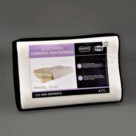Almohada Ergonómica Memory Foam Beautyrest Essential Simmons