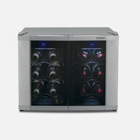 Cuisinart Vinera doble zona / sistema termoeléctrico 12 botellas CWC-1200DZ