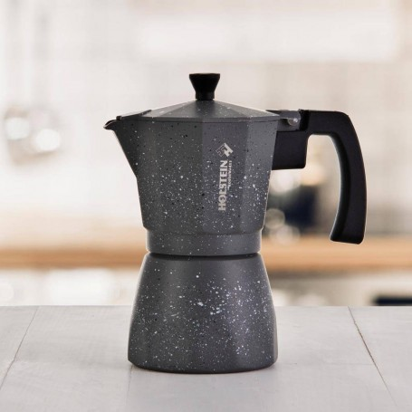 Cafetera espresso 6 tazas Silver Holstein