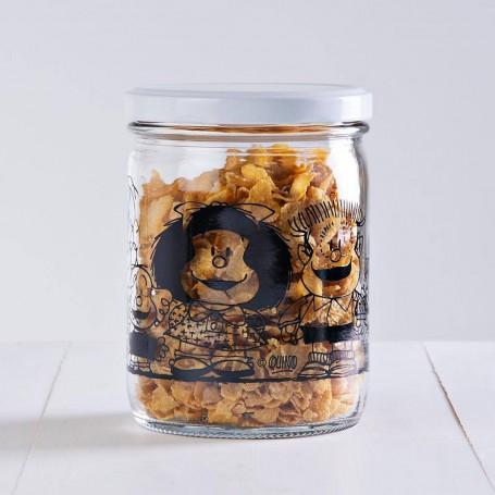 Frasco con tapa rosca Mafalda