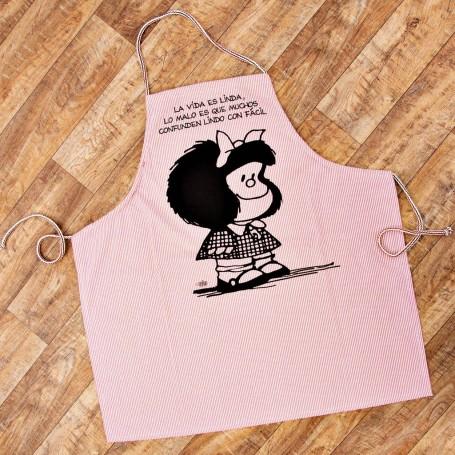 Delantal Mafalda Rayas Surtido