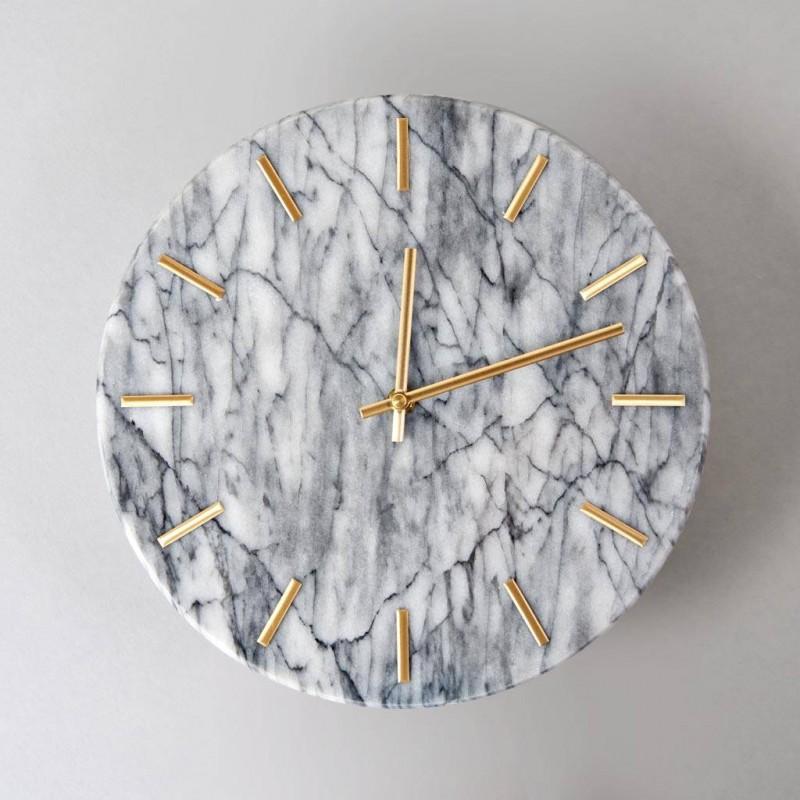 Reloj de pared Mármol