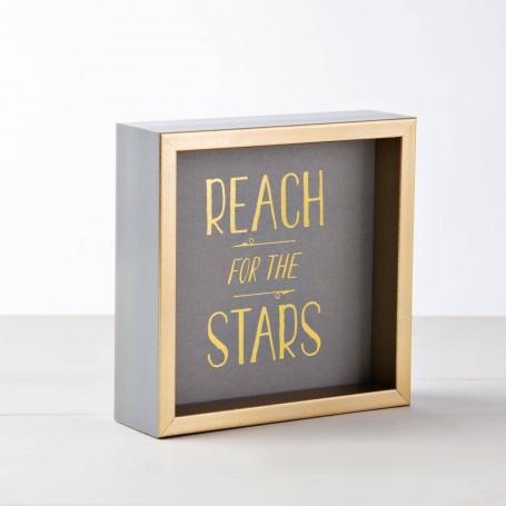 Portarretrato / Cuadro REACH FOR THE STARS Haus