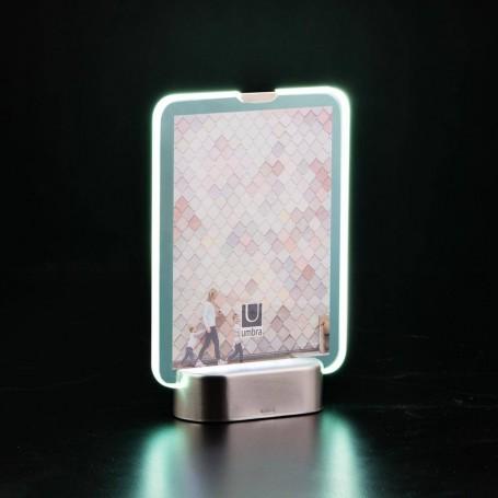 Portarretrato con luz LED Glo Umbra