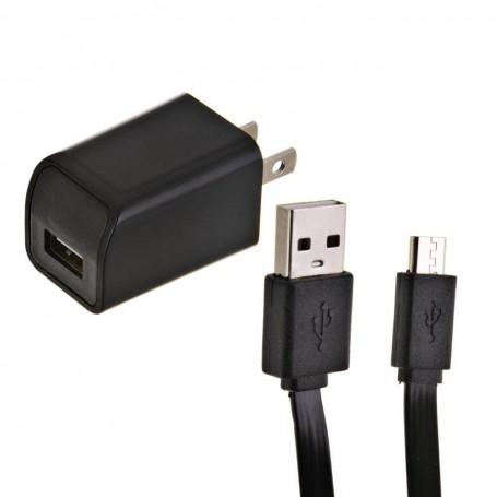 Cargador de pared con cable micro USB Bytech