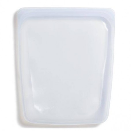 Funda reusable pequeño con cierre hermético para hornear / congelar / vaporizar / llevar Stasher