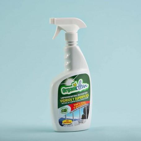 Limpiador para vidrios y superficies Organiclean