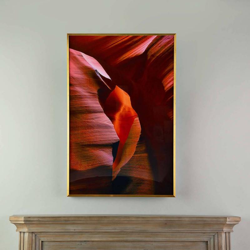 Cuadro con marco Abstracto Naranja / Terra