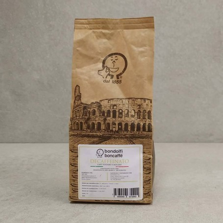 Café tostado y molido Decaffeinato Bondolfi Boncaffe