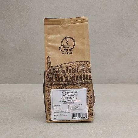 Café tostado y molido Quirinale Bondolfi Boncaffe