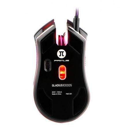 Mouse gaming 7 botones 10000DPI / 1000Ghz Gladius 10000S Primus