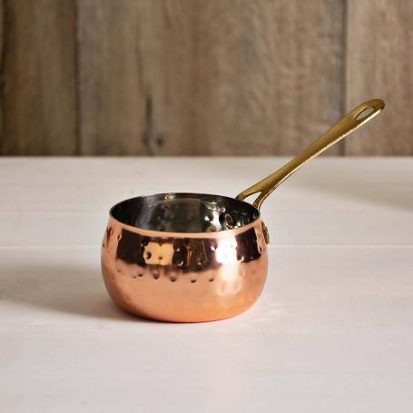 Mini fuente cacerola con mango Martillado Haus