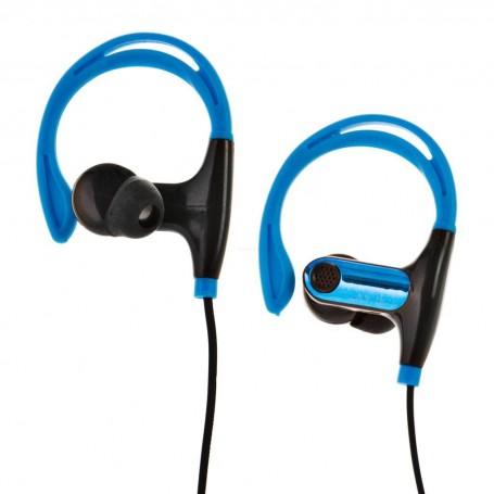 Audífonos deportivos con cable y micrófono Bytech