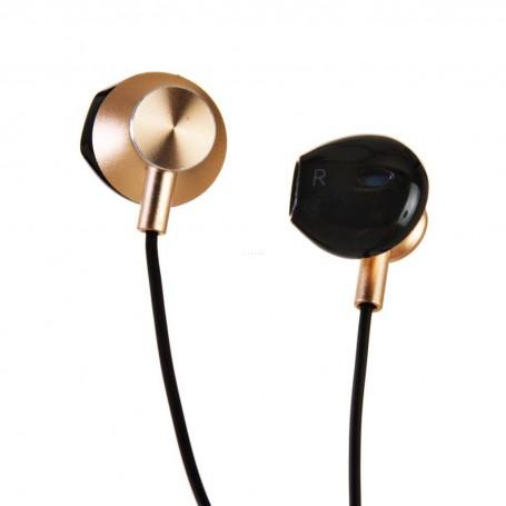 Audífonos de alta definición con micrófono y volumen Elitepro Irago