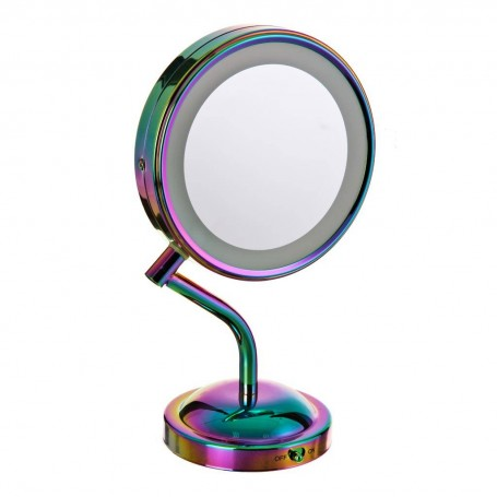 Espejo 1x / 5x con luz LED Rainbow BE4SRB Conair