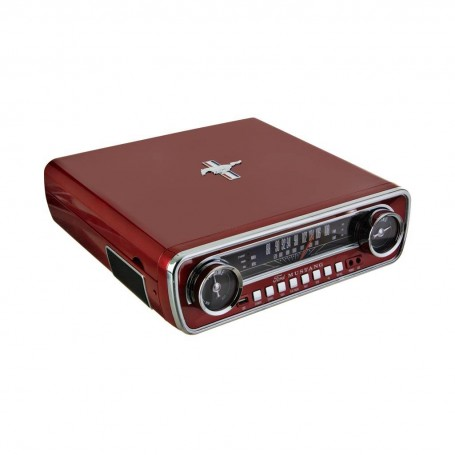 Tocadiscos Mustang 3 velocidades / Digitaliza LP / Radio AM / FM Ion
