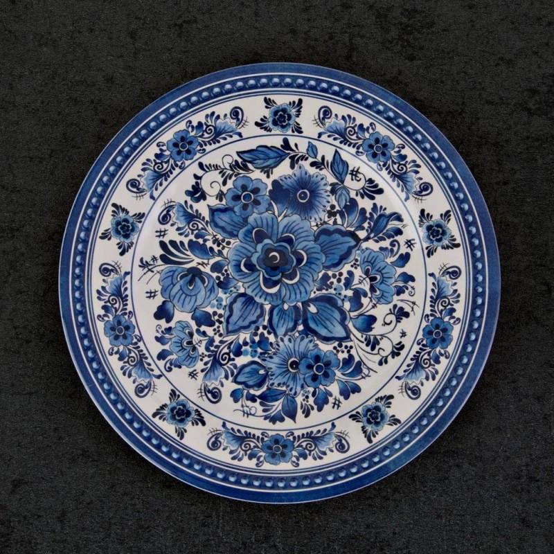 Plato para postre Flores Azules Haus