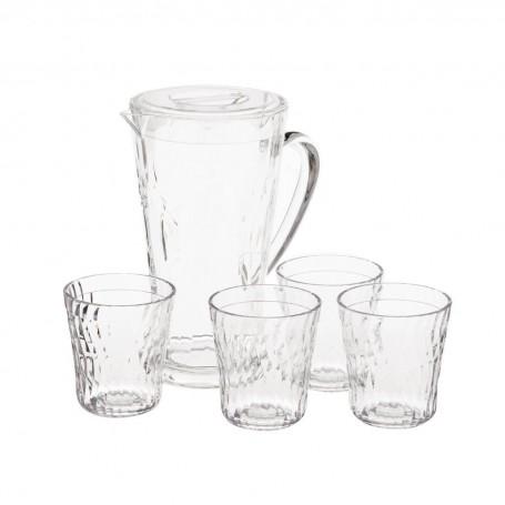 Jarra con vasos Pioneer