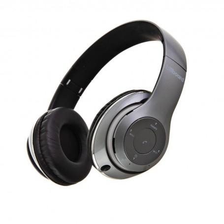 Audífonos Bluetooth / Control de volumen / Micro SD / FM Billboard