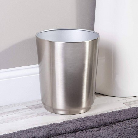 Basurero Austin Silver Interdesign